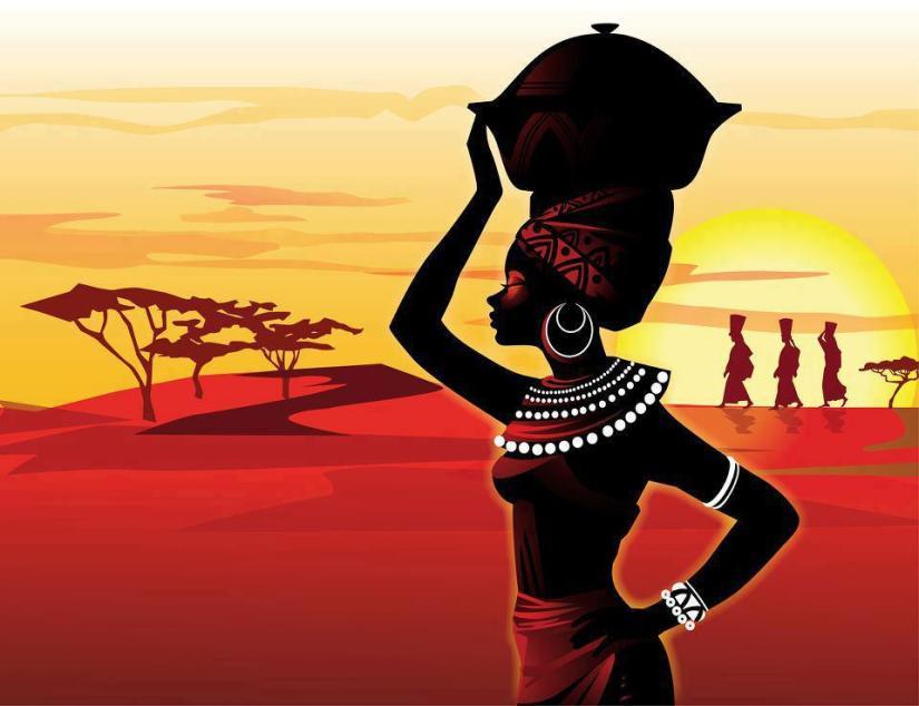 Femme noire – Léopold SédarSenghor