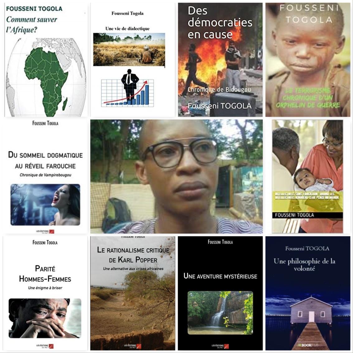 Fousseni Togola, écrivain, philosophe et bloggeur Malien –1989