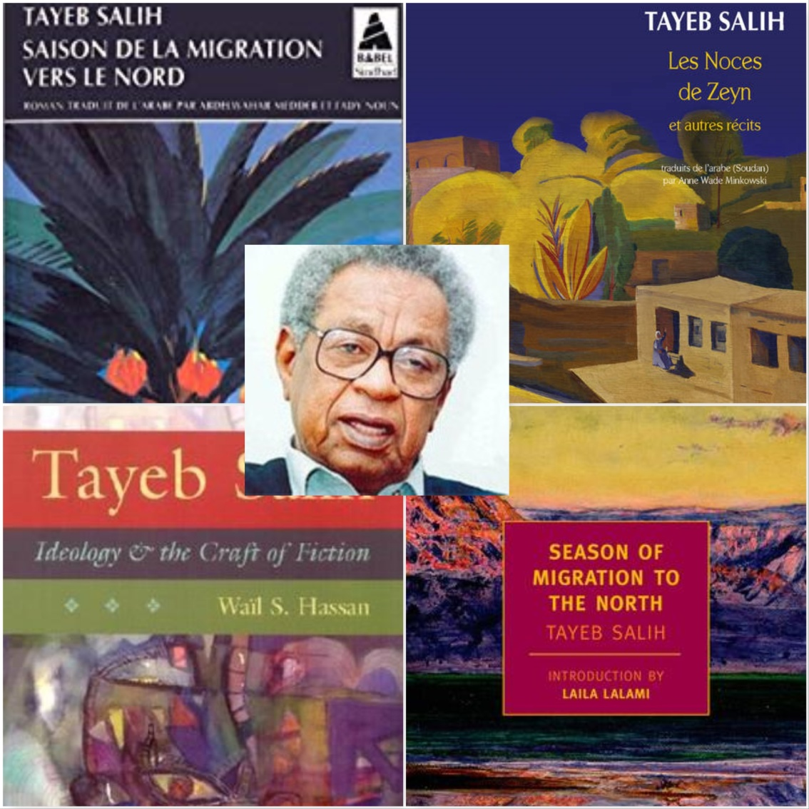 Tayeb Salih, poète et homme de Lettres Soudanais(1929-2009)